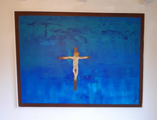 statie 7 Kruisiging titel: Alleen