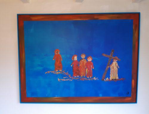 statie 6 Met het kruis op weg