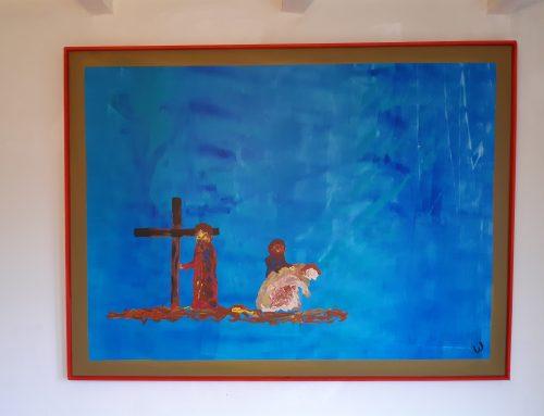 statie 5 Jezus valt opnieuw