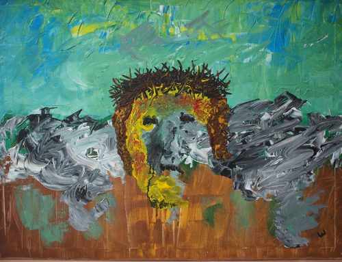 Statie 8 Jezus met die verrekte doornenkroon